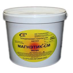 Полиуретановая мастика МАГНЭТИК-СМ Экстра коричневый кирпич