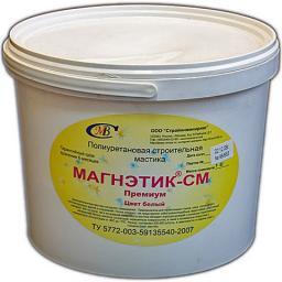 Полиуретановая мастика МАГНЭТИК-СМ Премиум белая