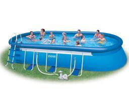Надувной овальный бассейн Intex - 54934