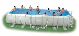 Каркасный прямоугольный бассейн Intex - 54982