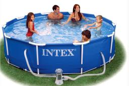 Каркасный бассейн intex - 56996 с фильтром