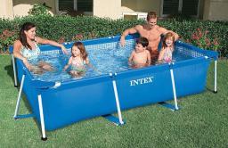 Каркасный бассейн Intex 58980, прямоугольный