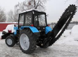 Экскаватор траншейный цепной к трактору Беларусу