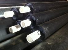 Пластиковые трубы в ППУ изоляции