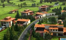 Строительство коттеджного поселка класса de luxe
