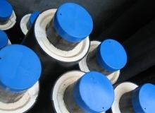 Труба стальная ППУ-ПЭ с ОДК 57×125