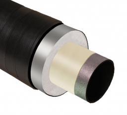 Труба стальная ППУ-ПЭ с ОДК 108×180