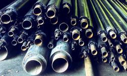 Труба стальная ППУ-ПЭ с ОДК 108×200