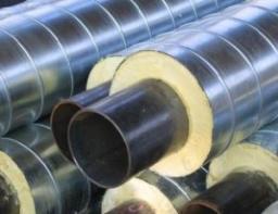 Труба стальная ППУ-ПЭ с ОДК 133×225