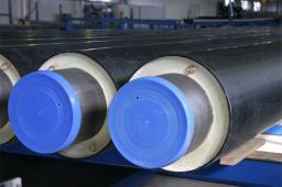Труба стальная ППУ-ПЭ с ОДК 133×250