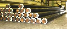 Труба стальная ППУ-ПЭ с ОДК 820×1100