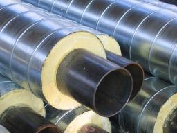 Труба стальная ППУ-О с ОДК 76×160