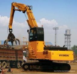 Экскаватор перегружатель HYUNDAI R380LC-9 MH