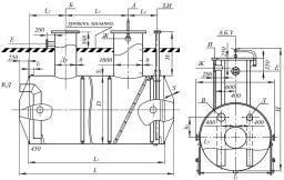 Подземные емкости ЕП-8 м³ (ЕПП-8)