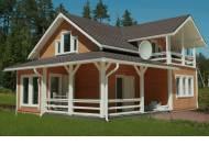 Каркасно-панельные дома - серия «СКАНДИНАВИЯ»