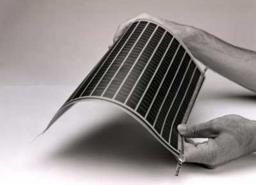 Гибкие солнечные панели производства КНР.