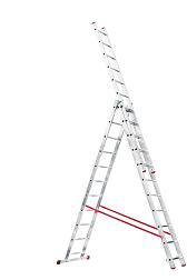 Лестницы-стремянки трехсекционные
