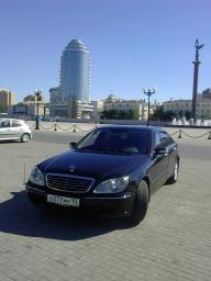 Аренда Мерседеса S-500 Long(220 кузов) до 2005г. черные,белые Краснодарский Край,Москва
