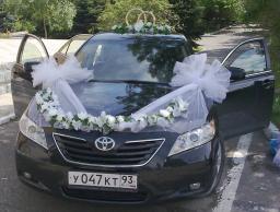 Аренда Тойота Камри черные,белые Краснодарский Край,Москва