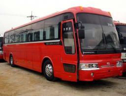Аренда автобуса Хюндай аэроквин 45 мест багажное отделение Краснодарский Край,Москва