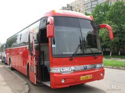 Аренда автобуса Кия Грандберд 50 мест багажное отделение Краснодарский Край,Москва