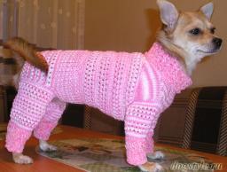 Пряжа для вязание собачьего комбинезона, свитера.