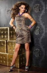 Вечернее платье леопардовое Германия по самым низким ценам!
