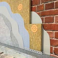 Теплоизоляционные плиты Rockwool ФАСАД БАТТС