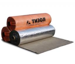 Материал базальтовый огнезащитный рулонный (МБОР) – фольгированный