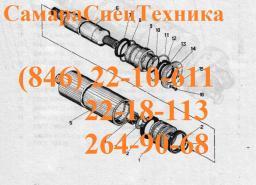 Гидроцилиндр БМ-305А.04.03.000А опоры, домкрата (ЦГ-100.70х710.67)
