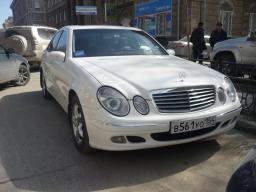 Vip такси Mercedes-Benz E-class (W211) с водителем