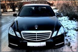 Аренда автомобиля Mercedes Benz E-class (W212) с водителем