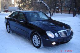 Аренда автомобиля Mercedes Benz E-class (W211) с водителем