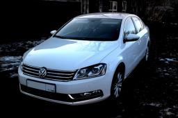Аренда автомобиля Volkswagen Passat 2012 г.в. с водителем