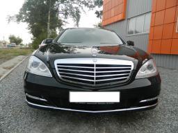 Аренда автомобиля Mercedes Benz S 350 (W221) long с водителем