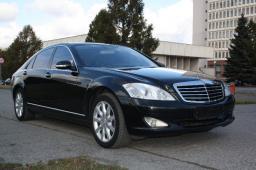 Аренда автомобиля Mercedes Benz S 500 (W221) long с водителем