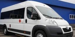 Микроавтобус Peugeot Boxer Tourist (17-20 мест) с водителем