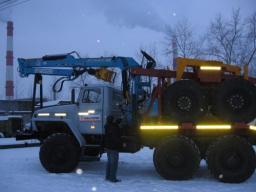 Лесовозные тягачи Урал 2018 г.в. от производителя Лизинг Доставка по России