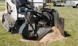 Навесное оборудование Bobcat - измельчитель пней