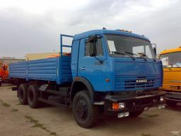 Бортовой автомобиль КамАЗ-53215 с двигателем Евро-3 (6х4, г/п 11 тонн)