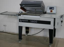Камерная упаковочная машина COMPACK 5800 MC термоусадочная с отводящим транспортером