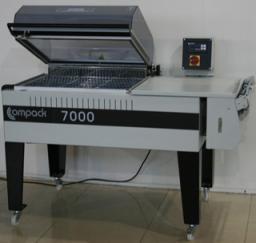 Камерная упаковочная машина COMPACK 7000 для упаковки хлеба, коробок с печеньем