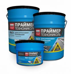Праймер битумный ТехноНИКОЛЬ №01, ведро 20 л