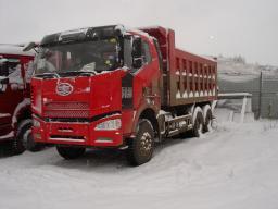 Самосвал FAW 6x4 350 л.с. (J6)