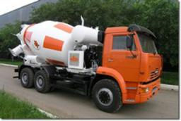 Автобетоносмеситель АБС-9 на шасси КамАЗ-6520 (Тигарбо)
