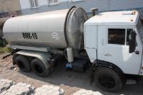 Оборудование машины вакуумной (ассенизаторской) на шасси КамАЗ