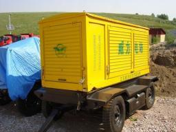 продам ДЭС (Дизельная электростанция) 100 квт на шасси