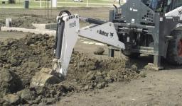 Навесное оборудование Bobcat - обратная лопата