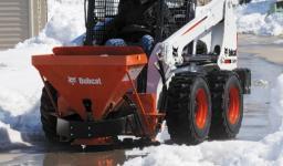 Навесное оборудование Bobcat - разбрасыватель соли