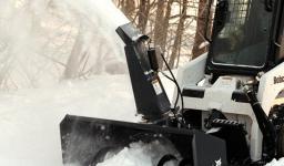 Навесное оборудование Bobcat - роторный снегоочиститель